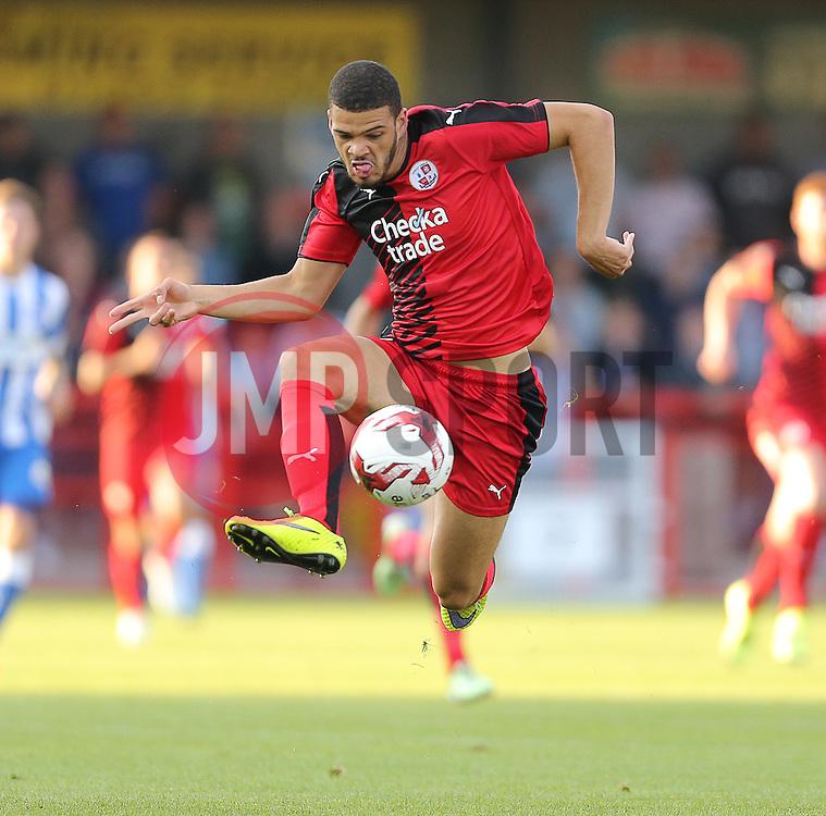 Shamir Fenelon of Crawley Town - Mandatory by-line: Paul Terry/JMP - 22/07/2015 - SPORT - FOOTBALL - Crawley,England - Broadfield Stadium - Crawley Town v Brighton and Hove Albion - Pre-Season Friendly