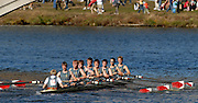 Boston, USA, Kings School. Chester, passing under the Weeks Bridge during the Head of the Charles, Race Charles River,  Cambridge,  Massachusetts. Sunday  21/10/2007  [Mandatory Credit Peter Spurrier/Intersport Images]..... , Rowing Course; Charles River. Boston. USA