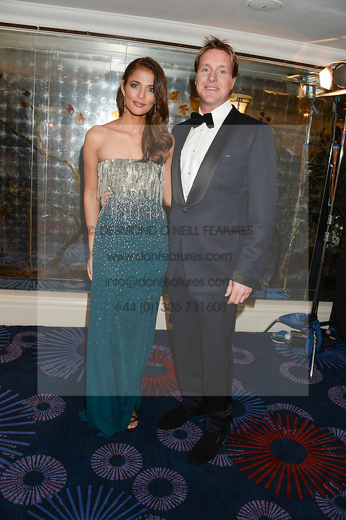 British fine jewellery brand Boodles welcomed guests for the 2013 Boodles Boxing Ball in aid of Starlight Children&rsquo;s Foundation held at the Grosvenor House Hotel, Park Lane, London on 21st September 2013.<br /> Picture Shows:-HENRY BECKWITH and JO RENWICK<br /> <br /> Press release - https://www.dropbox.com/s/a3pygc5img14bxk/BBB_2013_press_release.pdf<br /> <br /> For Quotes  on the event call James Amos on 07747 615 003 or email jamesamos@boodles.com. For all other press enquiries please contact luciaroberts@boodles.com (0788 038 3003)