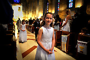 Olivia Granville's first communion Saturday May 7, 2011 in Atlanta. (© 2011 Stephen B. Morton Photography)