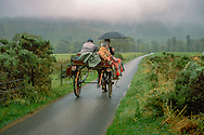 horse buggy ride on grounds of Muckross House