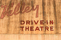 Valley Drive-in Theatre Marquee, Lompoc, California