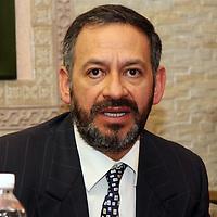 Toluca, México.- Martín Gutiérrez Rosales, presidente de las Uniones Sociales de Empresarios de Mexico (USEM). Agencia MVT / Arturo Rosales Chávez. (DIGITAL)