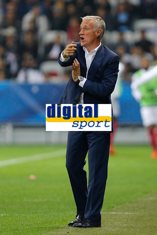 Didier Deschamps during the International friendly game 2015 football match between France and Armenia on October 8, 2015 at Allianz Riviera of Nice, France. Photo Philippe Laurenson / DPPI