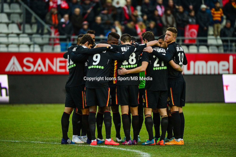 Lens - 25.01.2015 - Reims / Lens  - 22eme journee de Ligue1<br /> Photo : Dave Winter / Icon Sport *** Local Caption ***