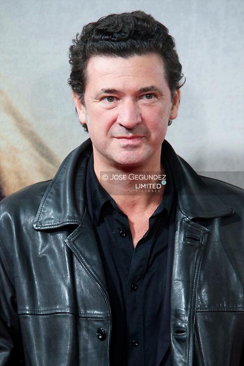 Director Julio Medem attends 'Venuto Al Mondo' Premiere at Capitol Cinema in Madrid