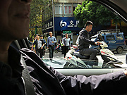Rush hour in Kunming,Yunnan, China; September, 2013.