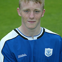 St Johnstone photocall 2004-2005 season.<br />Mark Baxter<br /><br />Picture by Graeme Hart.<br />Copyright Perthshire Picture Agency<br />Tel: 01738 623350  Mobile: 07990 594431