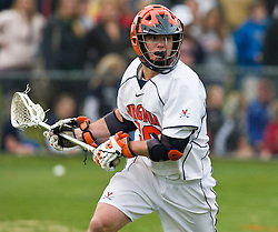 Virginia Cavaliers M Brian Carroll (36) in action against UMD.  The #9 ranked Maryland Terrapins fell to the #1 ranked Virginia Cavaliers 10 in 7 overtimes in Men's NCAA Lacrosse at Klockner Stadium on the Grounds of the University of Virginia in Charlottesville, VA on March 28, 2009.