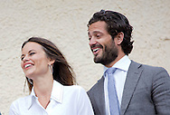 Karlstad, 26-08-2015<br /> <br /> Prince Carl Philip and Princess Sofia&rsquo;s official visit to Varmland<br /> <br /> Marbacka <br /> <br /> <br /> Photo:Royalportraits Europe/Bernard Ruebsamen