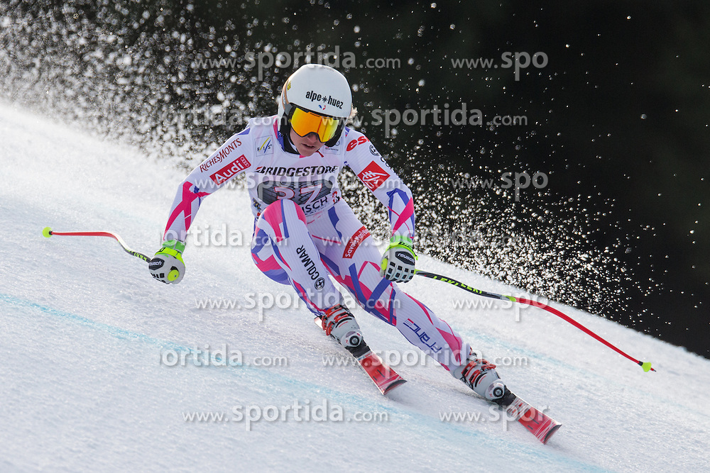 06.02.2016, Kandahar, Garmisch Partenkirchen, GER, FIS Weltcup Ski Alpin, Abfahrt, Damen, im Bild Jennifer Piot (FRA) // Jennifer Piot of France competes during the ladies Downhill of Garmisch FIS Ski Alpine World Cup at the Kandahar course in Garmisch Partenkirchen, Germany on 2016/02/06. EXPA Pictures © 2016, PhotoCredit: EXPA/ Johann Groder