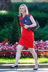 © Licensed to London News Pictures. 19/07/2016. London, UK. Justice Secretary LIZ TRUSS attending the first cabinet meeting under Theresa May's leadership in Downing Street on Tuesday, 19 July 2016. Photo credit: Tolga Akmen/LNP