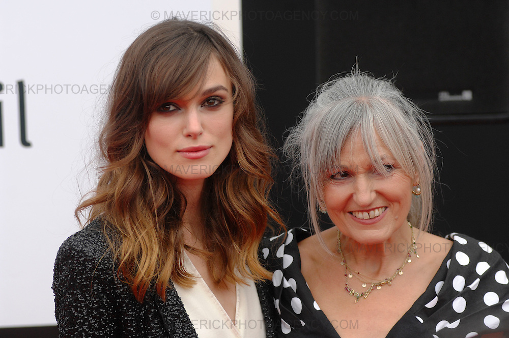 Keira Knightley and her mother Sharman MacDonald attend 'The Edge of Love' film premier at Cineworld, Fountain Park, Edinburgh - 18th June 2008.  The film paints an extraordinary portrait of Dylan Thomas (played by Matthew Rhys) and the women is his life Caitlin MacNamara (Sienna Miller) and Vera Phillips (Keira Knightley).  Four lives are thrust together with heart breaking results in an intimate tale of sex and betrayal in war-torn Britain.