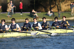 2012.02.25 Reading University Head 2012. The River Thames. Division 2. Southampton University Boat Club B IM2 8+