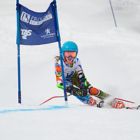 Girls GS 1st run - Cascade Cup 2013
