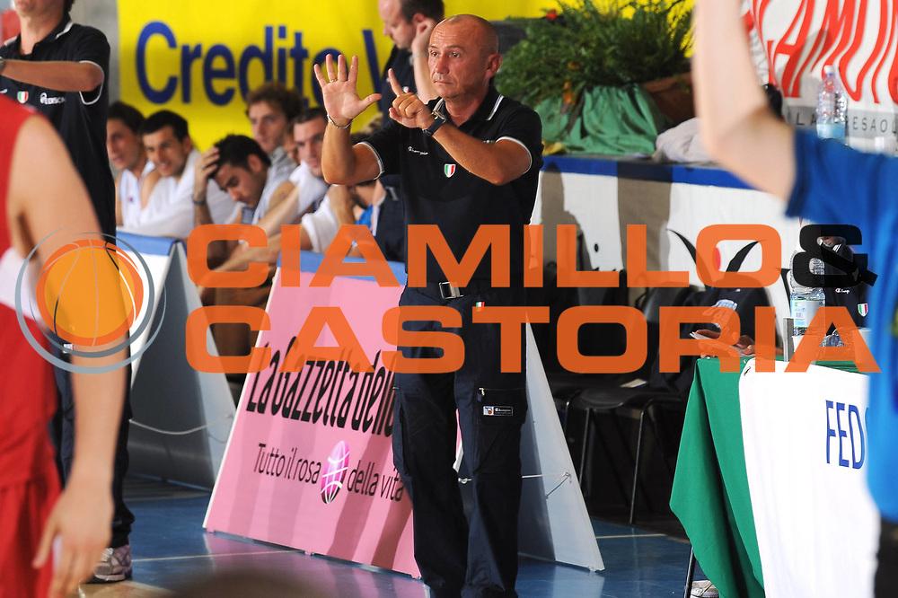 DESCRIZIONE : Bormio Torneo Internazionale Diego Gianatti Italia Ungheria<br /> GIOCATORE : Luca Dalmonte<br /> SQUADRA : Nazionale Italia Uomini<br /> EVENTO : Torneo Internazionale Guido Gianatti<br /> GARA : Italia Ungheria<br /> DATA : 09/07/2010 <br /> CATEGORIA : ritratto coach<br /> SPORT : Pallacanestro <br /> AUTORE : Agenzia Ciamillo-Castoria/GiulioCiamillo<br /> Galleria : Fip Nazionali 2010 <br /> Fotonotizia : Bormio Torneo Internazionale Diego Gianatti Italia Ungheria<br /> Predefinita :