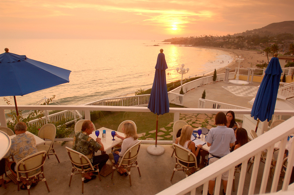 Restaurant, Laguna Beach, California, United States of America