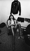 Def Leppard backstage - UK 1981