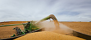 Agricultural machinery in Iowa.<br />