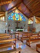 Catholic Church, Vaitahu Village, Tahuata, Marquesas; French Polynesia; South Pacific