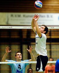 06-10-2012 VOLLEYBAL: SLIEDRECHT SPORT - ABIANT LYCURGUS 2: SLIEDRECHT<br /> Abiant Lycurgus 2 heeft in de Topdivisie Sliedrecht Sport met 1-3 verslagen. De setstanden waren 28-26, 19-25, 21-25 en 20-25 / Lucas Vermeulen<br /> ©2012-FotoHoogendoorn.nl