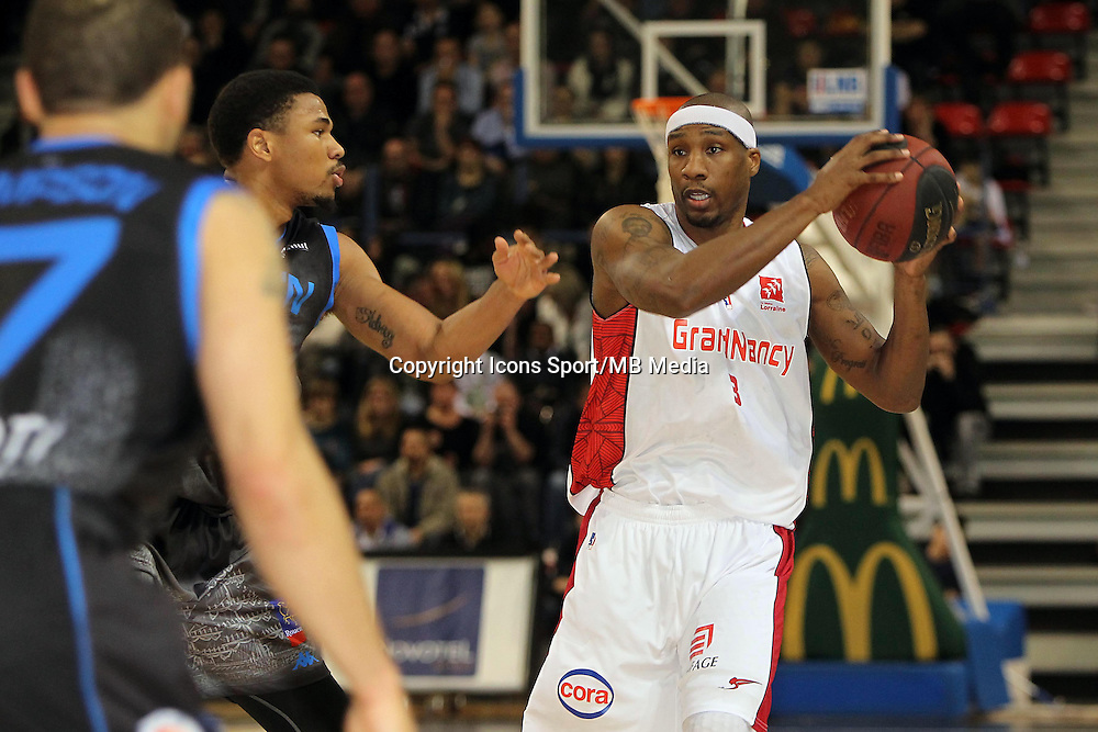 Alhaji MOHAMMED  - 07.03.2015 - Nancy / Rouen - 23eme journee de ProA<br />