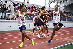 4x400 relay, Liberty<br /> ECAC/IC4A Track and Field Indoor Championships