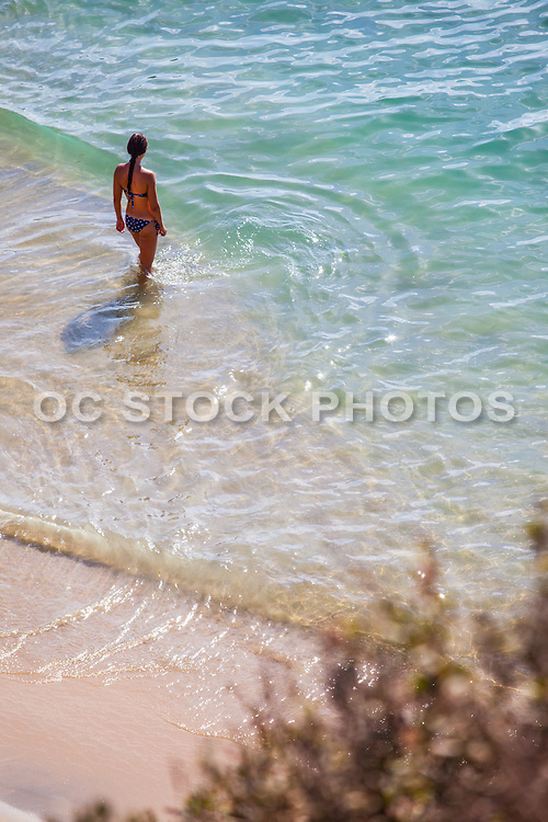 Woman Standing on the Beach During Summer