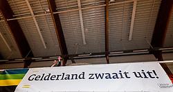 06-09-2018 NED: Netherlands - Argentina, Doetinchem<br /> First match of Gelderland Cup / Security, flag Gelderland zwaait uit