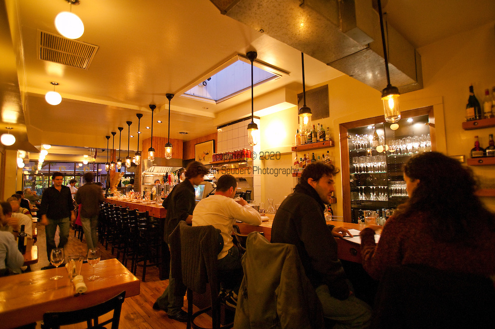 """Restaurant Au Pied de Cochon. As the name -- which means """"the pig's foot"""" -- suggests, the menu here is mostly about slabs of meat, especially pork."""