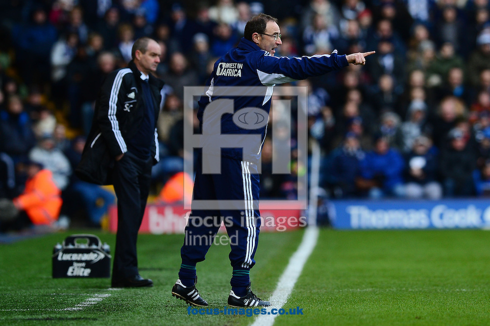 Picture by Alex Broadway/Focus Images Ltd +44 7905 628183.23/02/2013.Martin O'Neill of Sunderland during the Barclays Premier League match at The Hawthorns, West Bromwich.