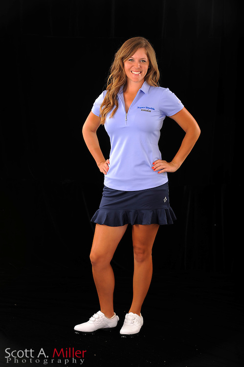 Mallory Blackwelder during a portrait shoot prior to the Symetra Tour's Florida's Natural Charity Classic at the Lake Region Yacht and Country Club on March 21, 2012 in Winter Haven, Fla. ..©2012 Scott A. Miller.