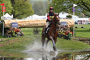Louisa Lockwood on Diamond Ructionsduring the International Horse Trials at Chatsworth, Bakewell, United Kingdom on 13 May 2018. Picture by George Franks.