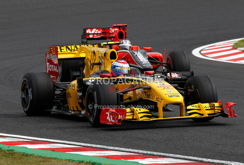 Motorsports / Formula 1: World Championship 2010, GP of Japan, 12 Vitaly Petrov (RUS, Renault F1 Team),