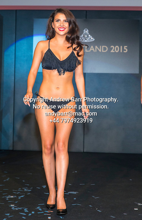 27-08-2015<br /> Miss Scotland 2015 final at Raddison Blu, Glasgow.<br /> <br /> Bikini round - Stephanie Dunn<br /> <br /> Pic:Andy Barr<br /> <br /> www.andybarr.com<br /> <br /> Copyright Andrew Barr Photography.<br /> No reuse without permission.<br /> andybarr@mac.com<br /> +44 7974923919