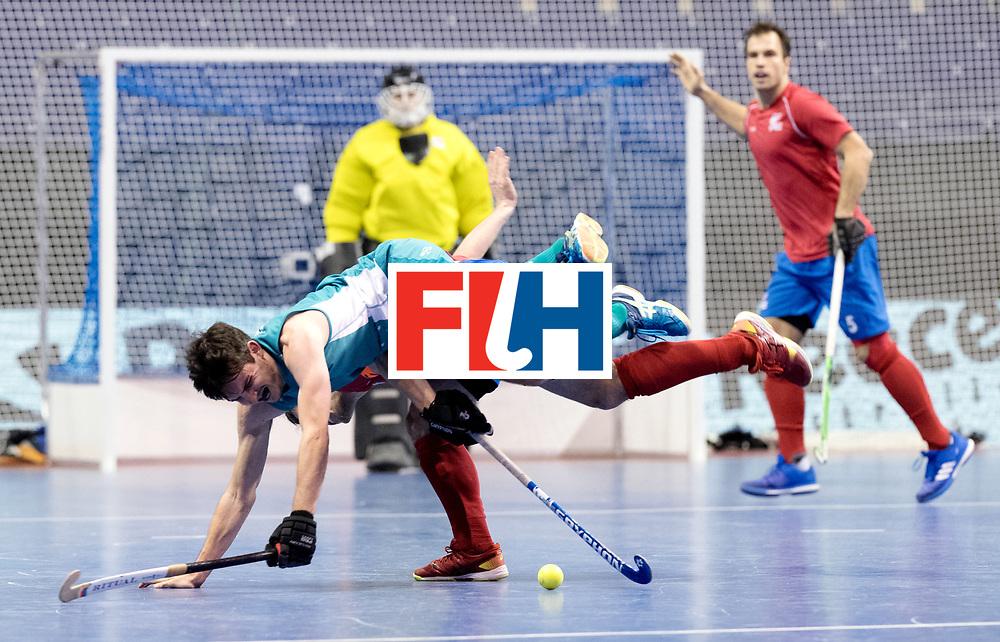 BERLIN - Indoor Hockey World Cup<br /> Men: Australia - Czech Republic<br /> foto: <br /> WORLDSPORTPICS COPYRIGHT FRANK UIJLENBROEK