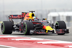 October 20, 2017 - Austin, Texas, U.S - Red Bull Racing driver Daniel Ricciardo (3) of Australiain action before the Formula 1 United States Grand Prix race at the Circuit of the Americas race track in Austin,Texas. (Credit Image: © Dan Wozniak via ZUMA Wire)