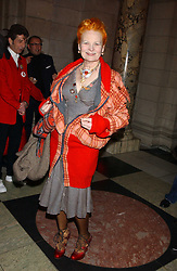 VIVIENNE WESTWOOD at a reception to celebrate the opening of Anna Piaggi Fashion-ology and Popaganda: The Fashion and Style of JC de Castelbajac at the V&A Museum, London on 31st January 2006.<br /><br />NON EXCLUSIVE - WORLD RIGHTS