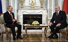 Russian President Vladimir Putin's working visit to Belarus - 19 June 2018