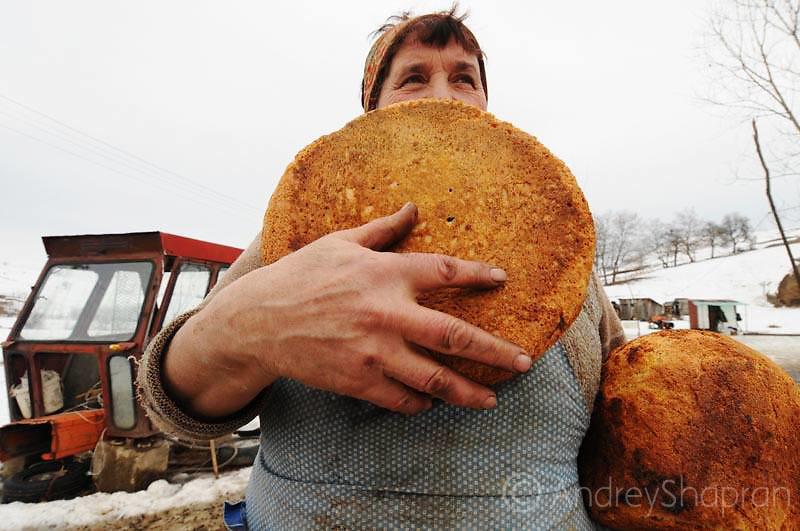 Winter in Transilvania. Romania, 2012