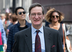 © Licensed to London News Pictures. 22/05/2019. London, UK. Conservative MP Dominic Grieve walks to Parliament ahead of Prime Minister's Questions. Photo credit: Peter Macdiarmid/LNP