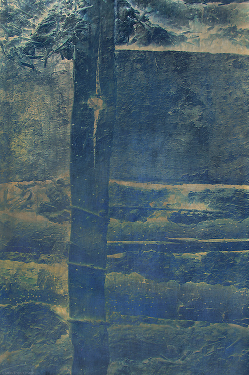 Conceptual image of a wattle and daub wall made from mud and sticks in a 16th century house in England