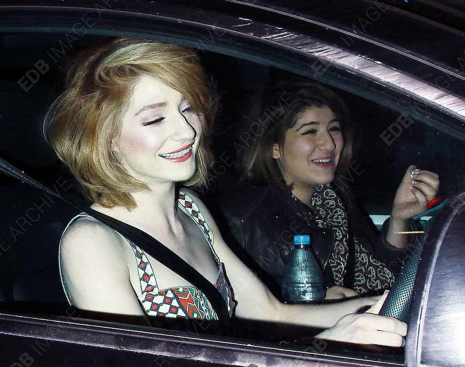 22.APRIL.2010. LONDON<br /> <br /> NICOLA ROBERTS WITH VERY HEAVY MAKE UP ON, PIMPLES AND A HAIRY CHIN LEAVING THE MAYFAIR HOTEL.<br /> <br /> BYLINE: EDBIMAGEARCHIVE.COM<br /> <br /> *THIS IMAGE IS STRICTLY FOR UK NEWSPAPERS AND MAGAZINES ONLY*<br /> *FOR WORLD WIDE SALES AND WEB USE PLEASE CONTACT EDBIMAGEARCHIVE - 0208 954 5968*