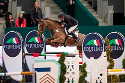 MÖLLER Jörg (GER), Darling<br /> Leipzig - Partner Pferd 2019<br /> Equiline Youngster Cup<br /> 1. Qualifikation Youngster Tour für 7 und 8 jährige Pferde<br /> 17. Januar 2019<br /> © www.sportfotos-lafrentz.de/Stefan Lafrentz