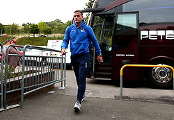 Jonny Burn of Bristol Rovers arrives at Adam's Park for the Checkatrade Trophy Match against Wycombe Wanderers - Mandatory by-line: Robbie Stephenson/JMP - 29/08/2017 - FOOTBALL - Adam's Park - High Wycombe, England - Wycombe Wanderers v Bristol Rovers - Checkatrade Trophy