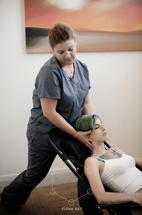 Massage and bodywork.