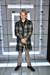 Charley Palmer Rothwell at the official launch of The Perception at W London, 10 Wardour Street, London England. 7 November 2017.<br /> Photo by Dominic O'Neill/SilverHub 0203 174 1069 sales@silverhubmedia.com