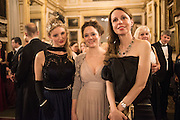 NINA GOLIKOVA; JOSINA VON DEM BUSSCHE-KESSELL; DR. JELENA OBENHASSEN;, The 20th Russian Summer Ball, Lancaster House, Proceeds from the event will benefit The Romanov Fund for RussiaLondon. 20 June 2015