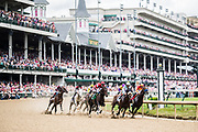 May 3, 2019: 145th Kentucky Oaks at Churchill Downs. Racing action at Churchill Downs