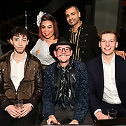Izabela Calik of Luxury Fashion Networking hosts at IC Show with X Factor Singers Fashio9n Show ahead of LFW Winter 2019 with amazing crowded at the heart of Soho, London, UK. 11 Feb 2019.